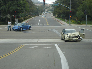 accident at intersection