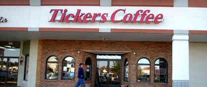 Fredericksburg - Tickers Coffee
