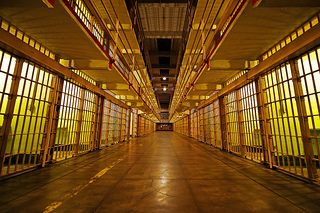 jail at night