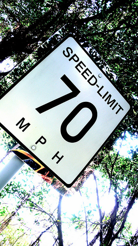 Post image for Watch Out for I-95 Speed Limits