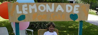 lemonade entrepreneur