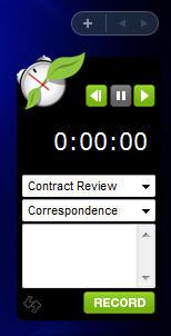 FreshBooks Vista Gadget Screenshot