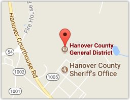 Hanover County General District Court for DUI