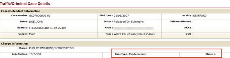 court-database