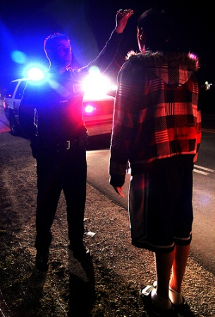 stopped for DUI