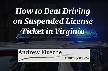pulled over with suspended license