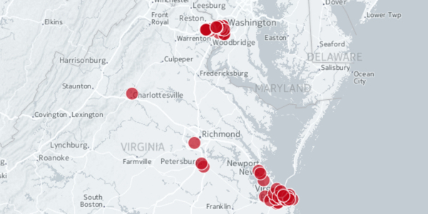 Virginia Red Light Cameras: Interactive Map of Locations +