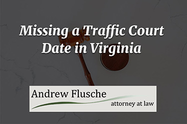 missed court date for traffic violation