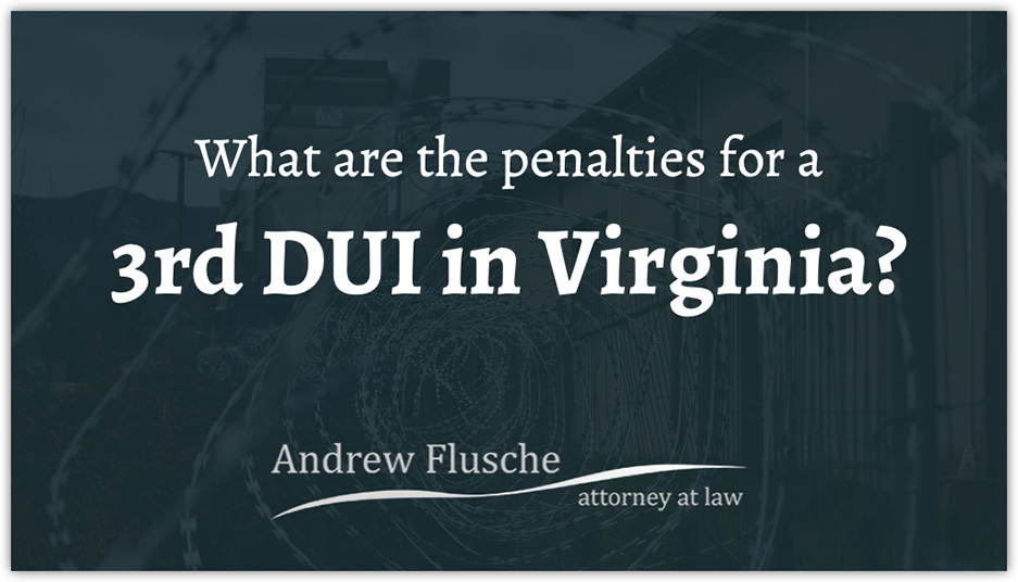 virginia dui laws third offense