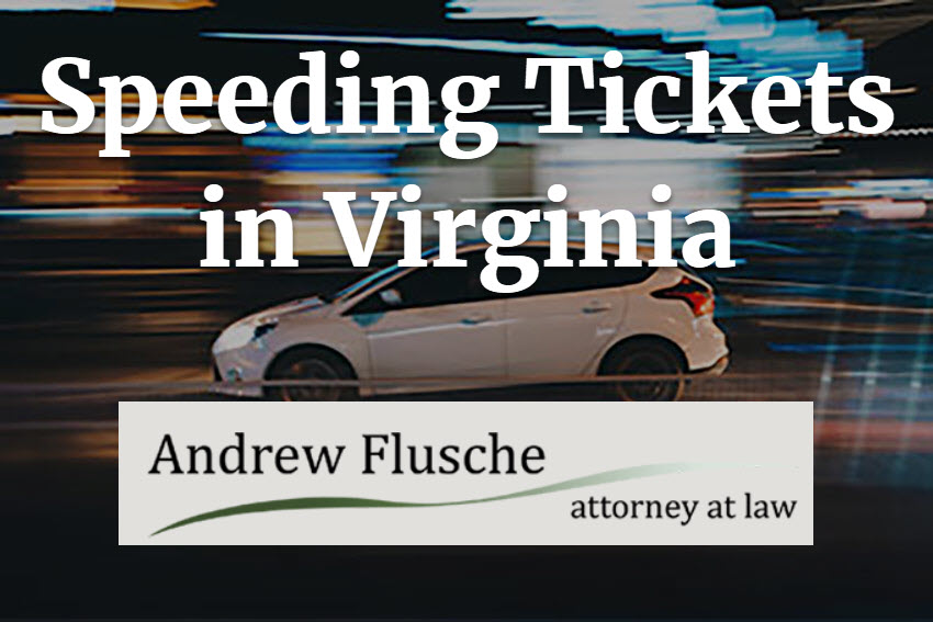 Everything You Need to Know About Virginia Speeding Tickets