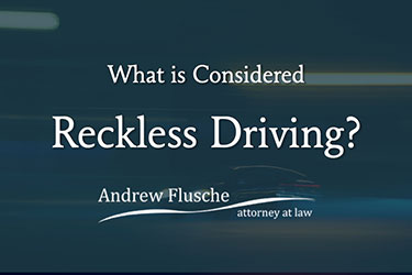 what is reckless driving in va