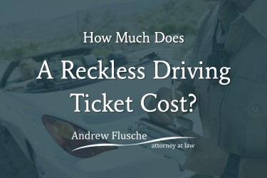 virginia reckless driving ticket cost