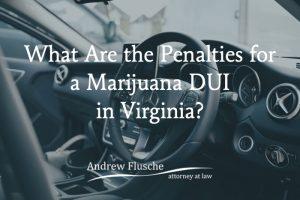 marijuana dui penalty